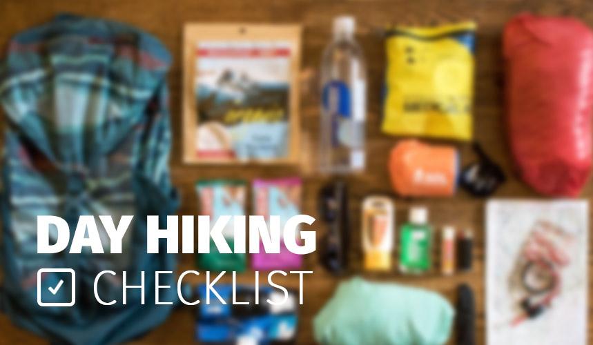 რა გვჭირდება ლაშქრობაზე-Day Hiking Checklist